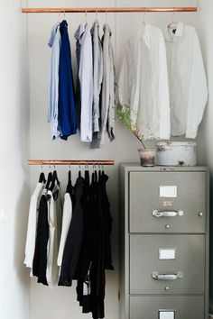 copper wardrobe