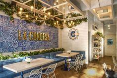 Restaurante com inspiração mediterrânea em Medellín (Foto: Daniel Mejía…