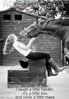 ~ The healing loved of a Horse.  Pure Magic!
