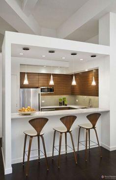 Foto: Top Dreamer #cozinha #bancada #madeira