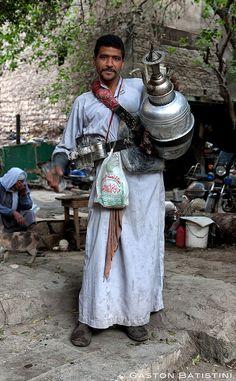 Erk suse , egyptian drink, seller, Khan-Al-Khalili, Cairo, Egypt