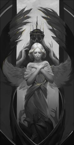 angel, Sveta Pikul on ArtStation at https://www.artstation.com/artwork/DYKo9