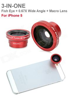 e2b656da4374 ZEA-F180R 3-in-1 Fish Eye + 0.67X Wide Angle +