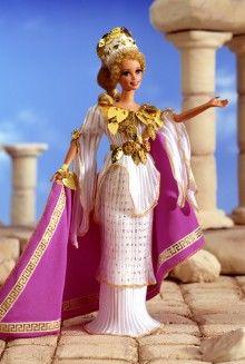 Grecian Goddess Barbie :)