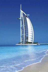 Burj Al Arab, Dubai, UAE. One of the most luxurious hotels in Dubai. In Dubai, Dubai Hotel, Dubai Uae, Visit Dubai, Dubai Beach, Dubai City, Places Around The World, Oh The Places You'll Go, Places To Travel