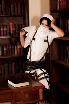 Shingeki no Kyojin - Levi (Rivaille) | Man does Levi love to clean!