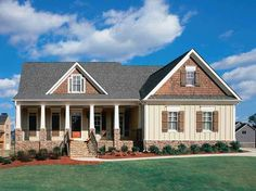 Exterior Front View Cape Cod House Plan - Homes Result - Architecture News and Home Design Collection
