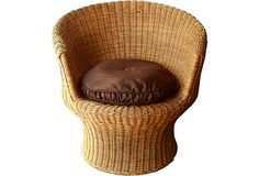 Rattan Chair on OneKingsLane.com