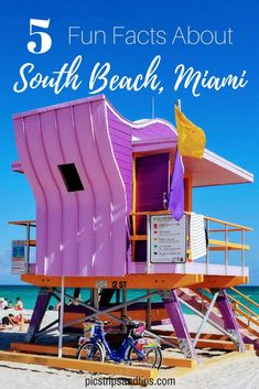 South Beach is loaded with culture, flavor and mojitos! Here are five tidbits to help you with your trip. #southbeach #miami