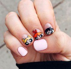 135 fall nail art designs you'll love – page 1 Minimalist Nails, Ongles Funky, Hair And Nails, My Nails, Happy Nails, Jolie Nail Art, Kawaii Nails, Nails For Kids, Fire Nails