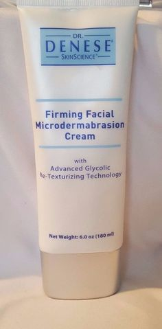 NEW ~ SEALED ~ Dr. Denese Firming Facial Microdermabrasion Cream 6 Oz JUMBO SIZE  | eBay