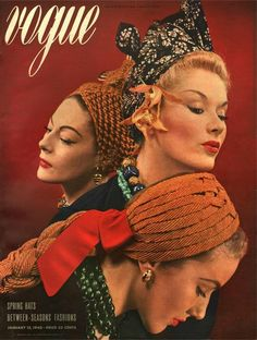 1940 my vintage vogue's