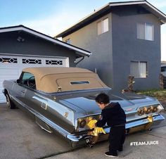 Little guy has a nicer car than me 🤣 Lowrider Bicycle, Lowrider Trucks, Chevy Impala, Chevrolet Chevelle, Lowriders Movie, Old School Pictures, Bronco Truck, Arte Hip Hop, Freaky Relationship Goals Videos