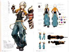 God Eater & God Eater 2 Visual Art Works Art Book - Anime Books