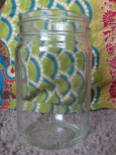 How to remove labels from grocery store jars to get standard mason jars free!