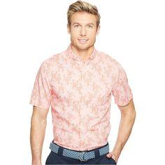Vineyard Vines Short Sleeve Lobster Toss Murray Shirt (Flamingo) Men's... (€46) ❤ liked on Polyvore featuring men's fashion, men's clothing, men's shirts, men's casual shirts, pink, mens sports shirts, mens woven shirts, mens casual short-sleeve button-down shirts and men's cotton short sleeve shirts