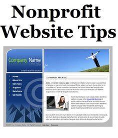 4 Non-profit Website Tips - FundraiserHelp.com