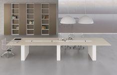 Tavolo da riunioni con piano sottile Layer - ARREDACLICK | Office ...