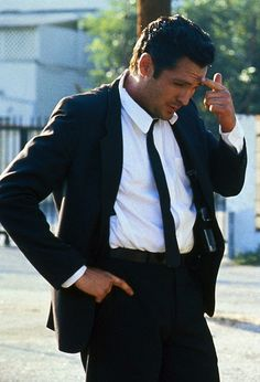 Michael Madsen. A real man is a real man <3. Swoon