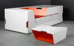 A Murphy bed is one thing but Rolands Landsbergs' design of Bedroom in a Box for Boxetti has established an entirely new realm for the foldaway furniture concept.