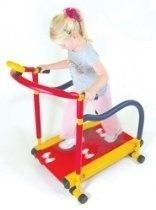 Redmon Fun and Fitness Exercise Equipment for Kids - Tread Mill twinsrock six-pack-abs pizza-tacos