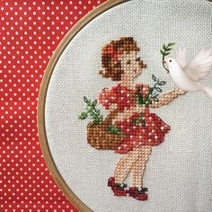 Cross Stitch For Kids, Simple Cross Stitch, Cross Stitch Baby, Cross Stitch Flowers, Cross Stitch Embroidery, Boat Crafts, Diy And Crafts, Cross Stitch Designs, Cross Stitch Patterns