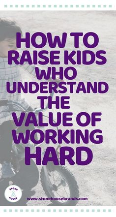 20 Ways To Instill A Solid Work Ethic In Your Kids - StoneHouse Smart Parents Don't Raise Lazy Kids. Here's How Are you raising lazy kids? Kids And Parenting, Parenting Hacks, Parenting Classes, Peaceful Parenting, Parenting Styles, Foster Parenting, Parenting Plan, Single Parenting, Parenting Websites