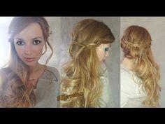 #Hair for #Wedding - #Acconciatura #semiraccolto #cepelli #elegante by #karotina