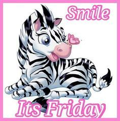 Smile It's Friday! Good Morning Friday, Happy Friday, Its Friday Quotes, Minnie Mouse, Disney Characters, Fictional Characters, Smile, Tgif, Fantasy Characters
