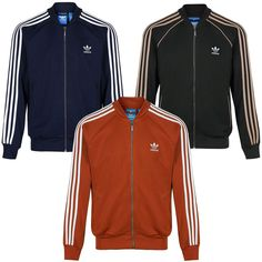 huge discount 6e28b 88b3e Part of the adidas Originals range. The Red Jacket is Fox Red which is more  like a burnt orange colour.