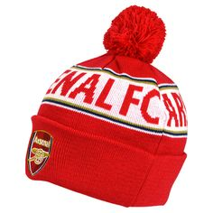 f533451e969c9 Arsenal Text Cuff Knitted Hat