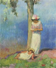 labellefilleart: By the Tree, Henri Lebasque