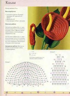 kwiaty szydełka