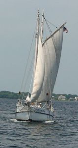 The Governor Stone Schooner. Our very own floating museum. The last schooner of its kind.