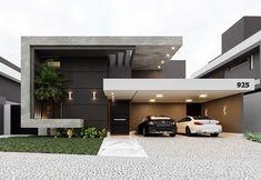 landscape architecture - 36 Amazing Modern Home Design Exterior Ideas Minimalist Architecture, Modern Architecture House, Architecture Design, Modern House Facades, Amazing Architecture, Modern Villa Design, House Front Design, Dream House Exterior, Facade Design