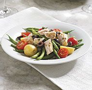 Niçoise Salad with Haricots Verts and Yukon Gold Potatoes