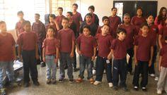 mis chicos...... del coro...