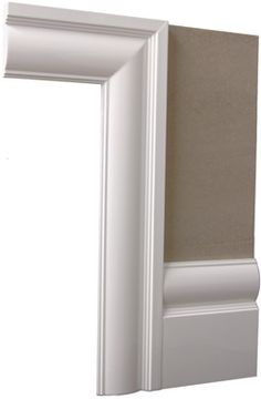 Burford contemporary architrave and skirting door trims for Modern door casing profiles