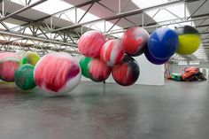 Stunning new show from Katharina Grosse fills Dutch gallery with mind-blowing colour