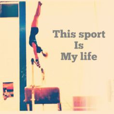 It's my life. So sad to be leaving this incredible sport that is my life:(