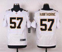 New Orleans Saints #57 David Hawthorne White Road NFL Elite