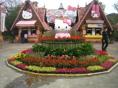 Sanrio Park Harmonyland Oita, Japan  I WILL go there one day. WOW