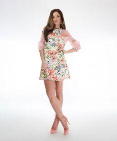 rochie cu imprimeu SS18 Magnolia Ethical Fashion Brands, Magnolia, Summer Dresses, Floral, Atelier, Summer Sundresses, Magnolias, Flowers, Summer Clothing