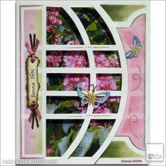 #Azza #Sjablonen #Gabarits #Stencils #Scrapbooking #Pages accordéon