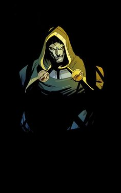 """""""And after a crash course in colour from Francis Manapul, I present Doom, as he roams the halls of his castle"""" Superhero Characters, Comic Book Characters, Comic Books Art, Comic Art, Dr Doom Marvel, Marvel Fan, Marvel Heroes, Captain Marvel, Marvel Avengers"""