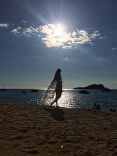 When the sun goes down over Cala Comte, Ibiza...!