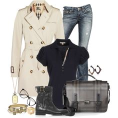 """AUTUMN PLAID"" by lbite1 on Polyvore"