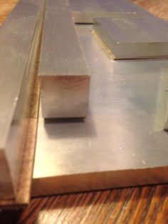 Aluminium plates that I'm going to mill when I've been finished the Cnc spindle.....!