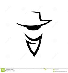 Illustration about Abstract cowboy head logo, icon on white background. Illustration of sign, bandit, clothing - 104136738 Tony Barber, Cowboy Art, Logo Design, Graphic Design, Backyard Projects, Craft Beer, Tattoo Designs, Instagram Ideas, Wild West