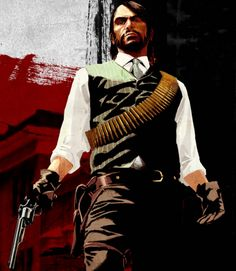 John Marston - Red Dead Redemption  One of my top 5 games played.